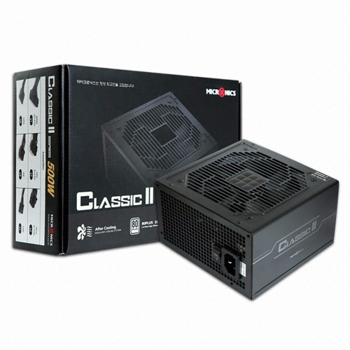 [마이크로닉스] Classic II 500W +12V Single Rail 85+ (벌크)