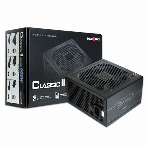 [마이크로닉스] Classic II 600W +12V Single Rail 85+ (벌크)